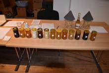 Soutěžní vzorky medu